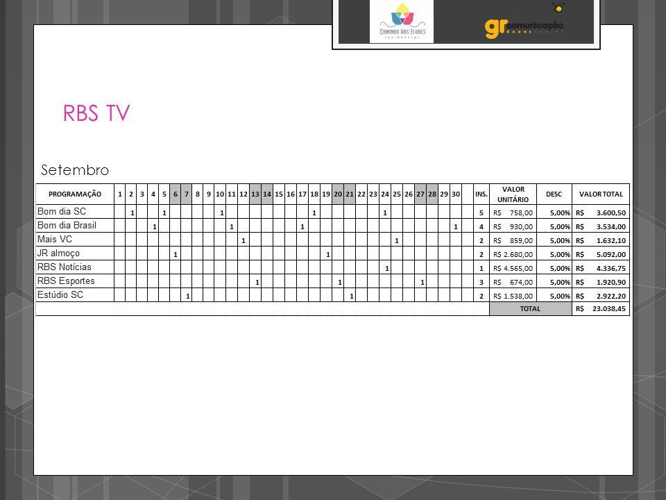 RBS TV Setembro