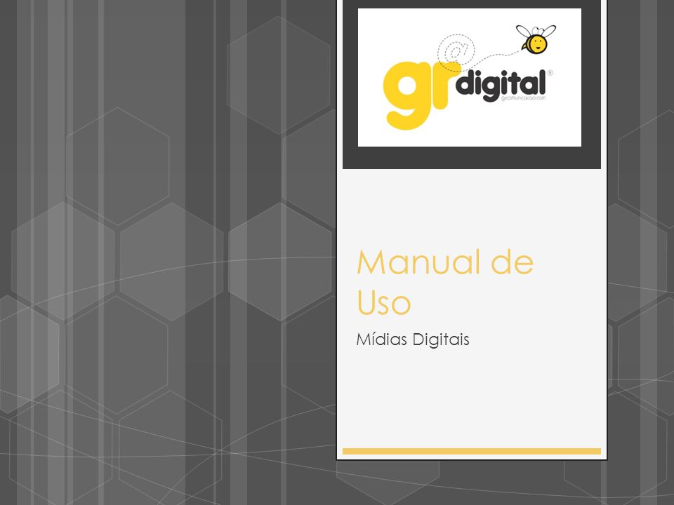 Manual Digital  Capa  Avatar  Posts  Aplicativos Formatos