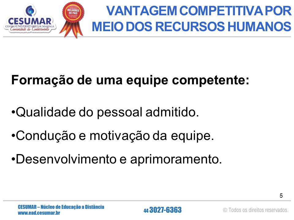66 GESTÃO COM PESSOAS Prof. Esp. Luciano Santana Pereira luciano.pereira@cesumar.br