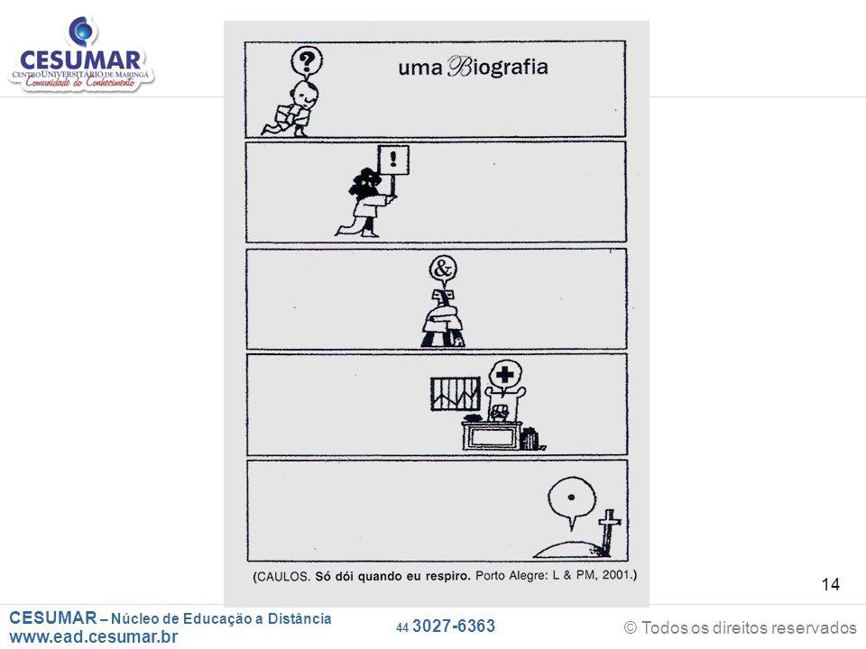 CESUMAR – Núcleo de Educação a Distância www.ead.cesumar.br © Todos os direitos reservados 44 3027-6363 14