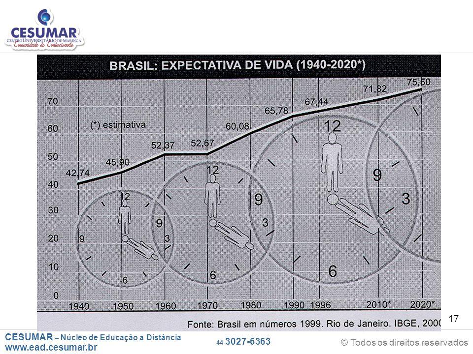 CESUMAR – Núcleo de Educação a Distância www.ead.cesumar.br © Todos os direitos reservados 44 3027-6363 17
