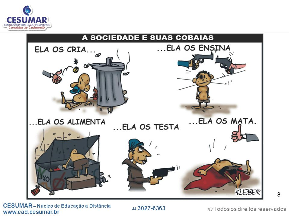 CESUMAR – Núcleo de Educação a Distância www.ead.cesumar.br © Todos os direitos reservados 44 3027-6363 8