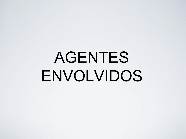 AGENTES ENVOLVIDOS