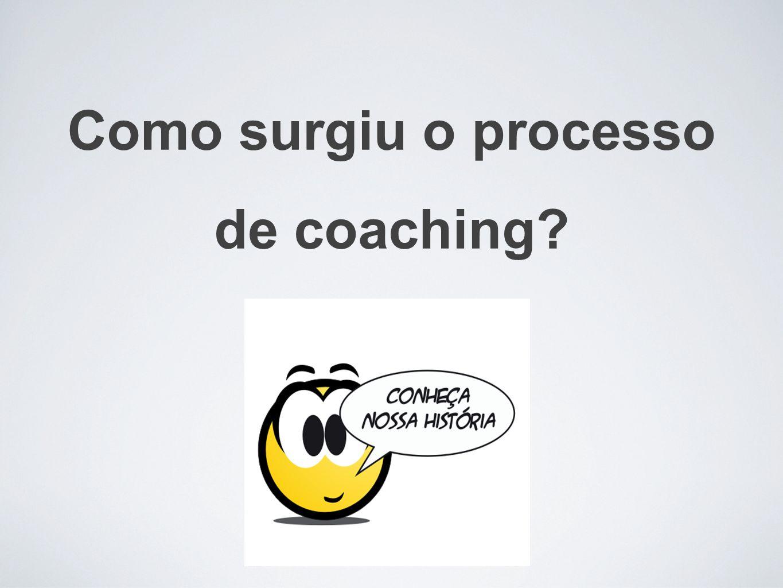 Como surgiu o processo de coaching?