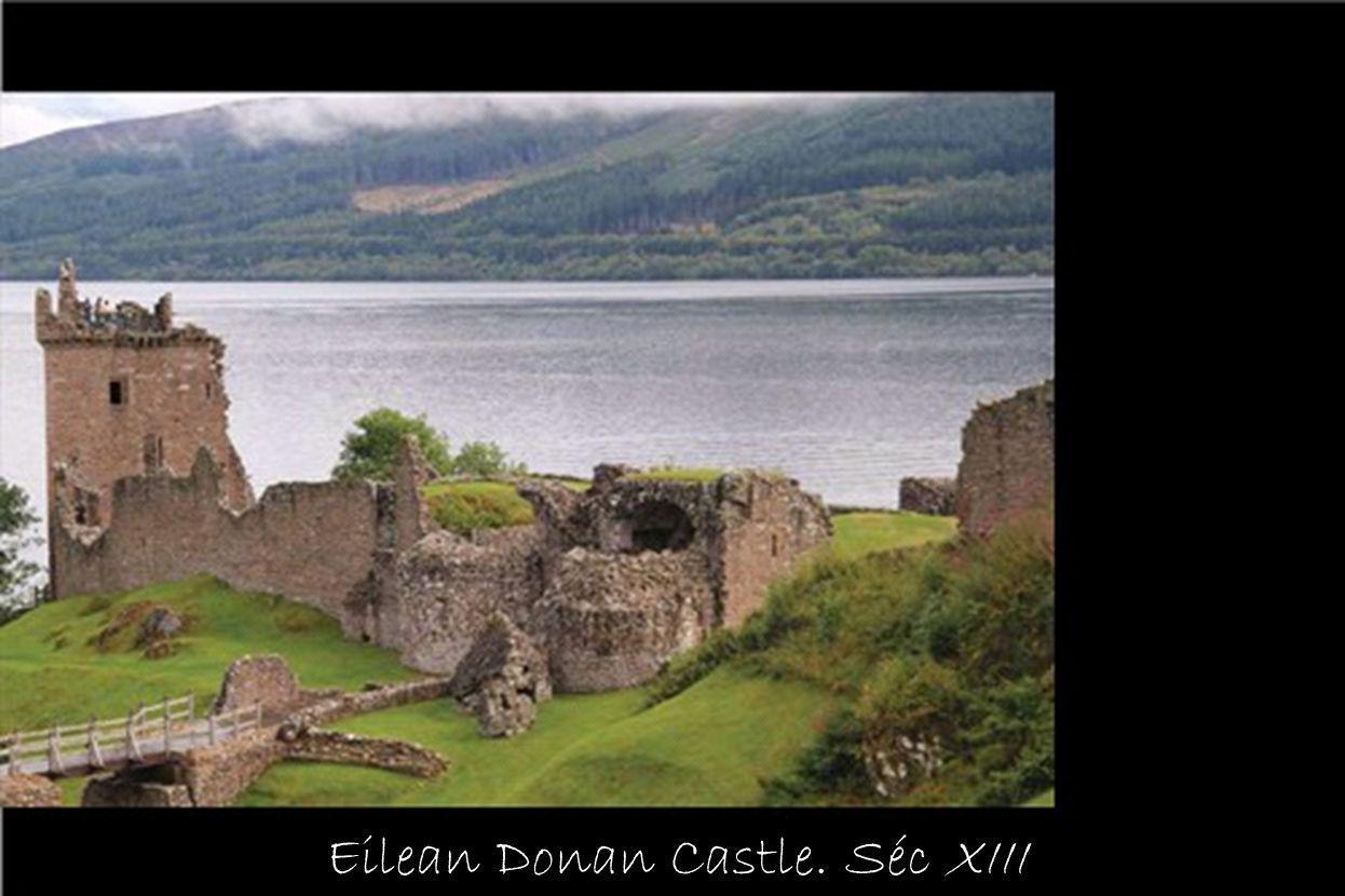 Eilean Donan Castle. Séc XIII