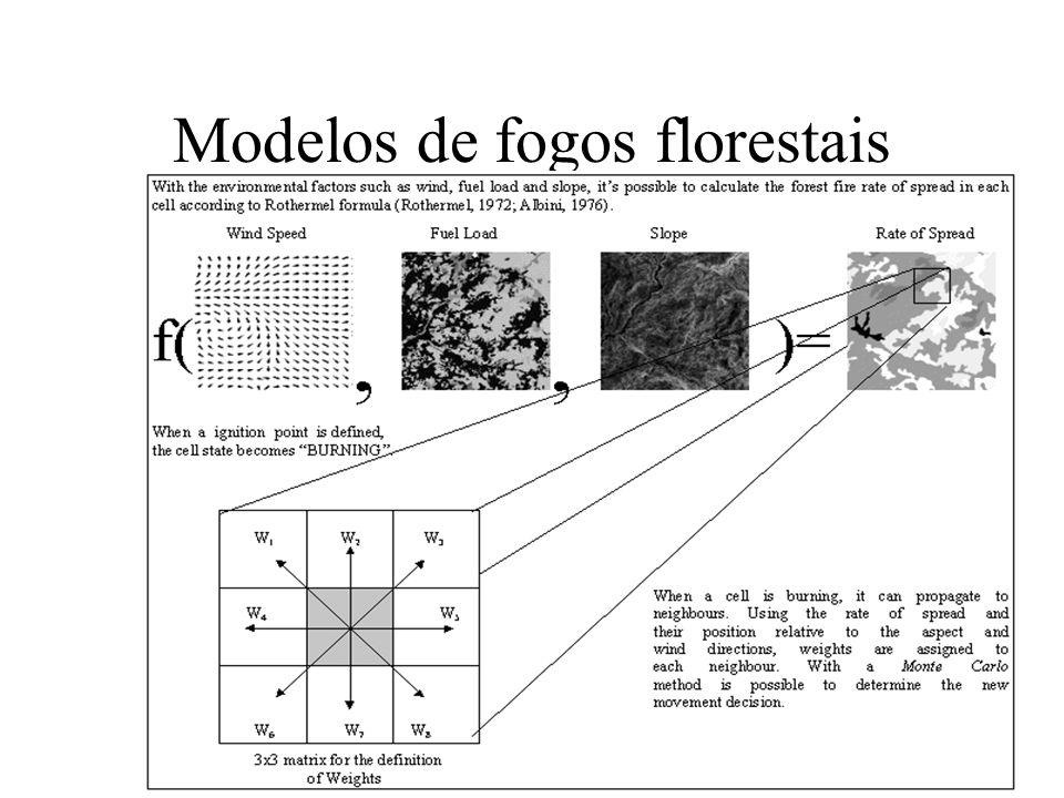 Modelos de fogos florestais