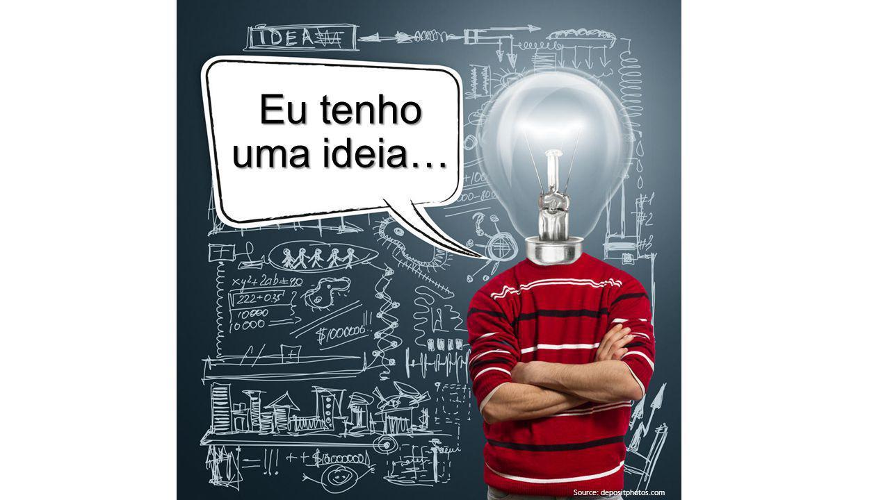 (Image source: shutterstock) Eu tenho uma ideia… Source: depositphotos.com