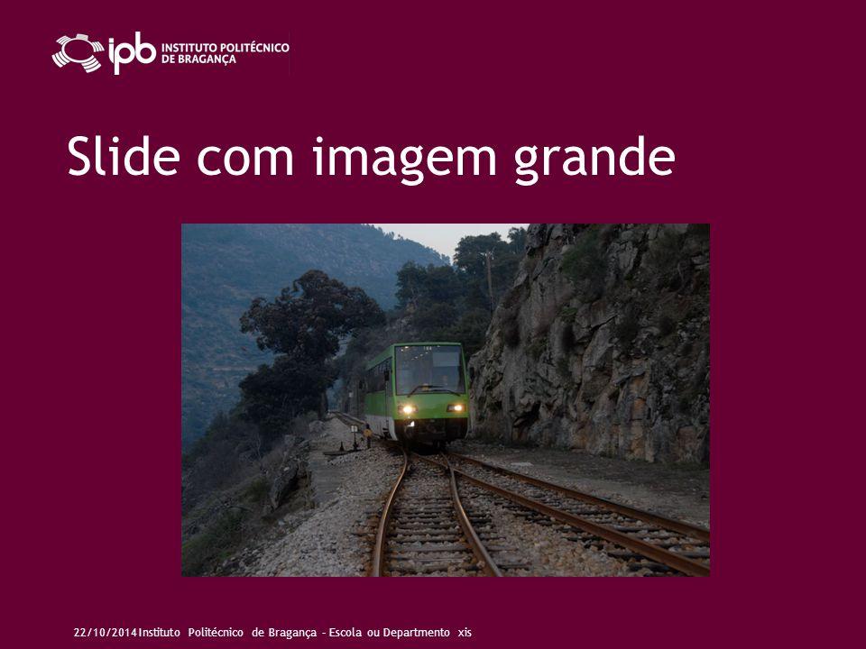 Slide com imagem de fundo Pouco ou nenhum texto, o qual deve ser legível sobre o fundo (ver notas deste slide).