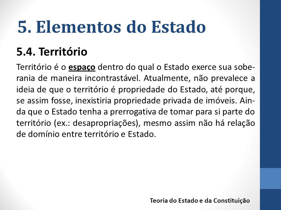 5.Elementos do Estado 5.4.