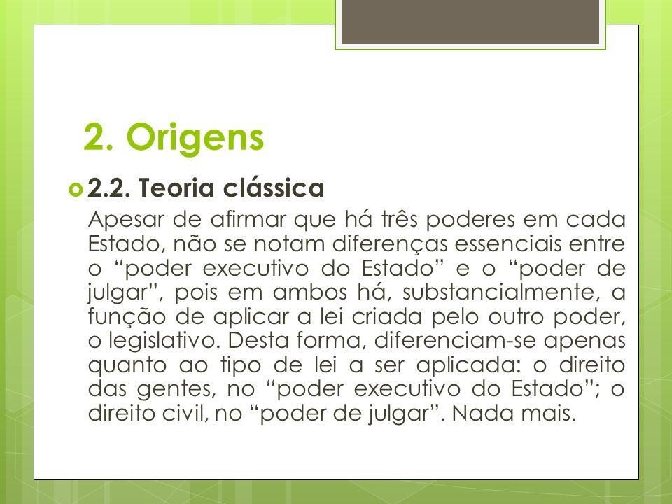 2.Origens  2.3.