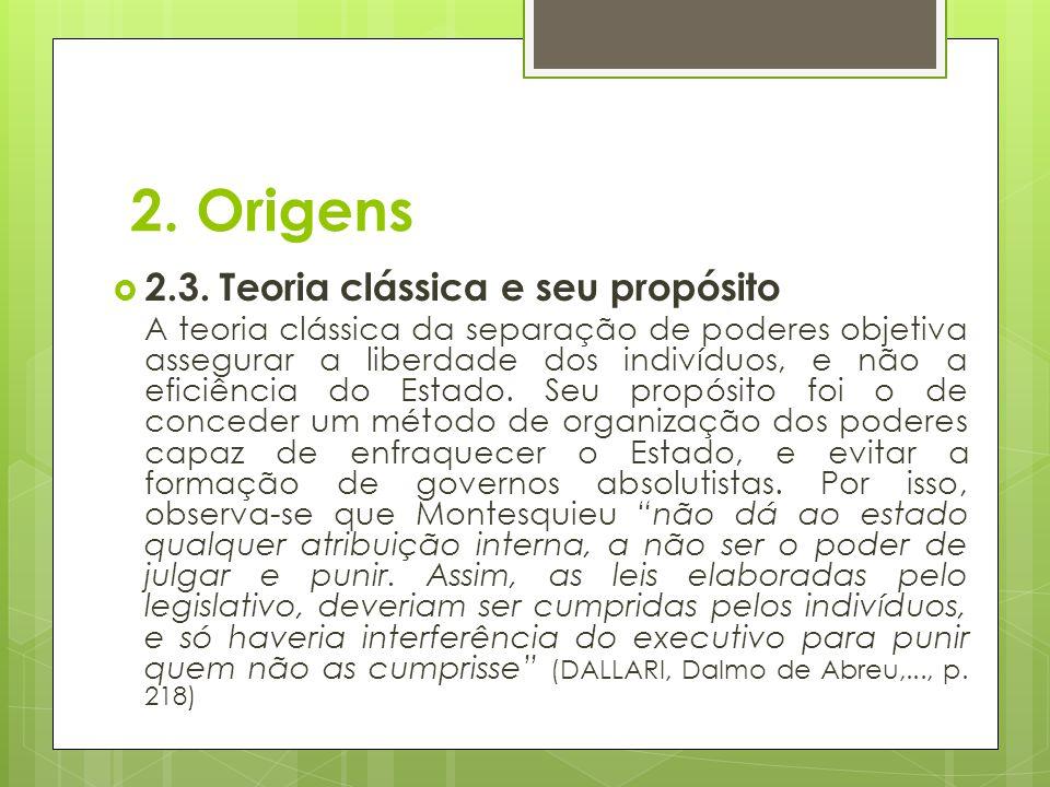 2.Origens  2.4.