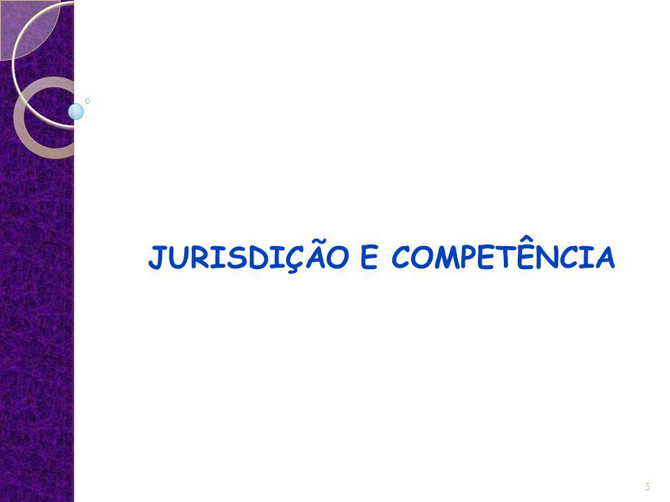 JURISDIÇÃO E COMPETÊNCIA 5