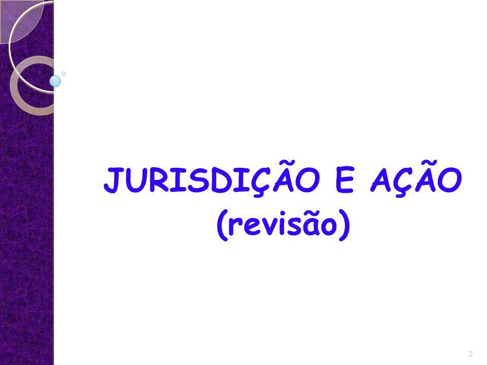 JURISDIÇÃO E AÇÃO (revisão) 2