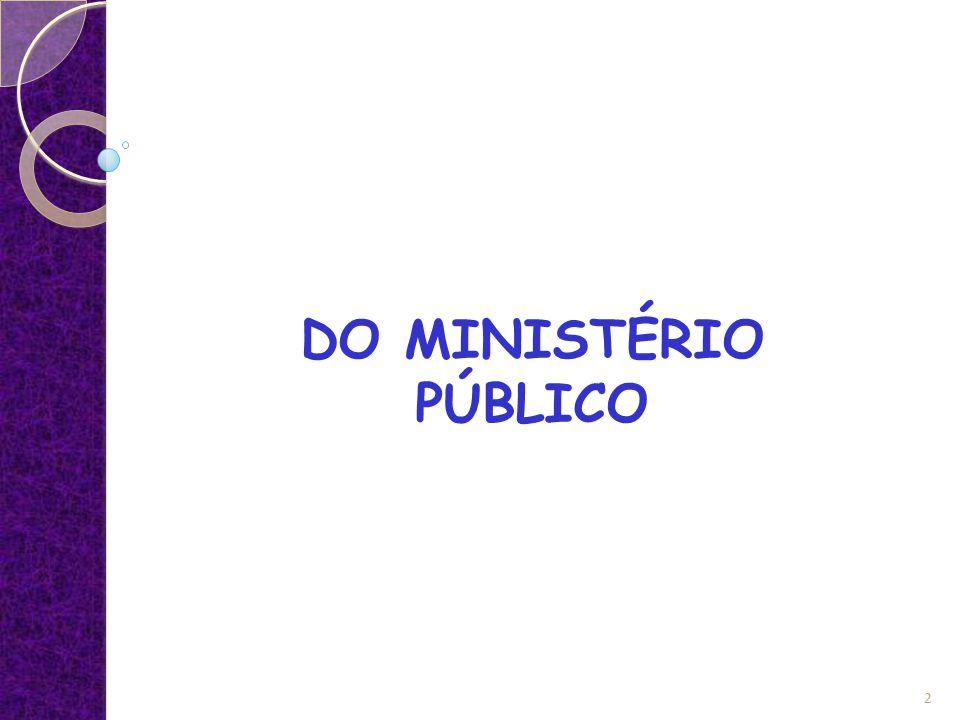 DO MINISTÉRIO PÚBLICO 2