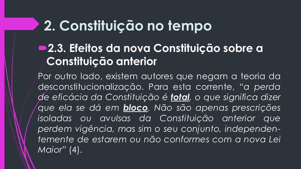 2.Constituição no tempo  2.3.