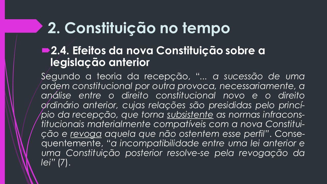 2.Constituição no tempo  2.4.