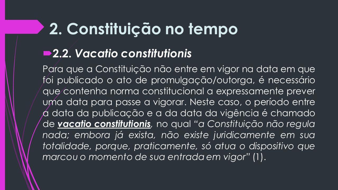 2.Constituição no tempo  2.2.