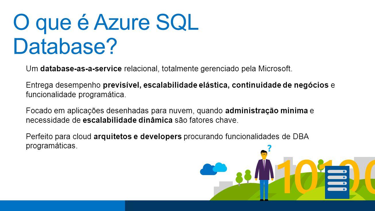 O que é Azure SQL Database.