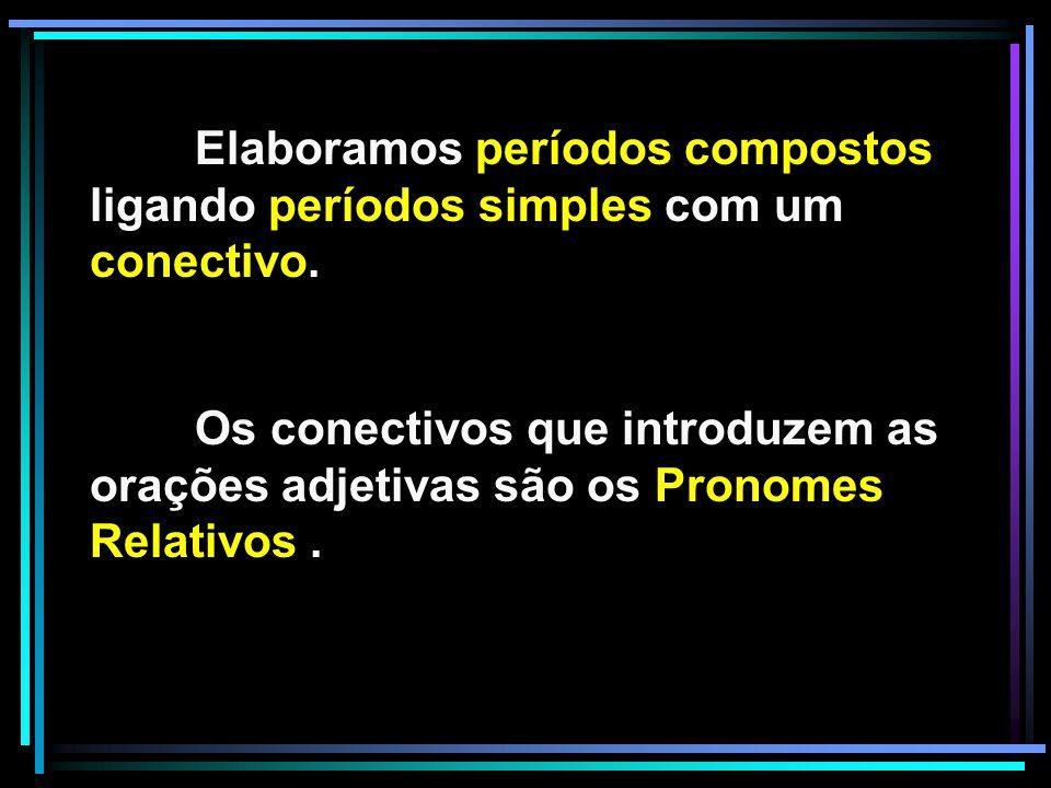 Objeto indireto da oração adjetiva FUNÇÕES DOS PRONOMES RELATIVOS: The man to whom you spoke is Mr.
