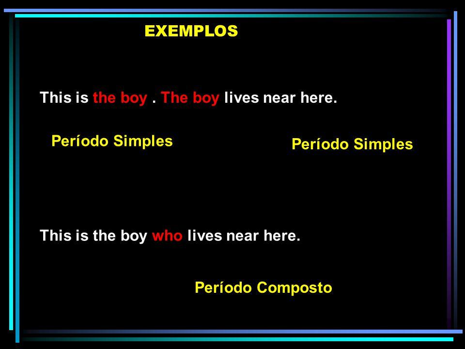 Elaboramos períodos compostos ligando períodos simples com um conectivo. Os conectivos que introduzem as orações adjetivas são os Pronomes Relativos.