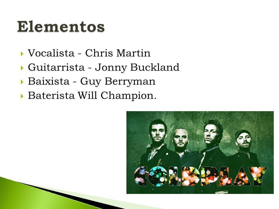  Vocalista Chris Martin