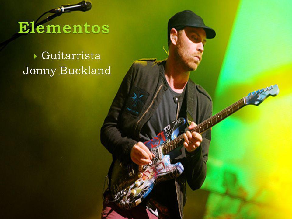  Guitarrista Jonny Buckland