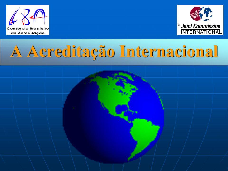 Acreditação Internacional Conjunta CONSÓRCIO BRASILEIRO DE ACREDITAÇÃO