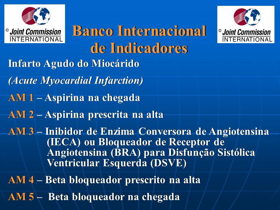 Banco Internacional de Indicadores Banco Internacional de Indicadores A necessidade para apresentar o mais completo conjunto de indicadores que inform