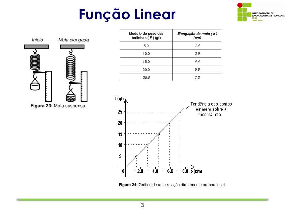 3 Função Linear