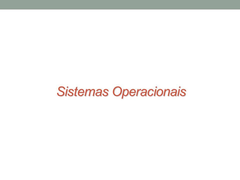 Tipos de sistemas operacionais Sistemas Multiprogramáveis/Multitarefa Aumento da produtividade dos seus usuários Redução de custos, a partir do compartilhamento dos diversos recursos do sistema.