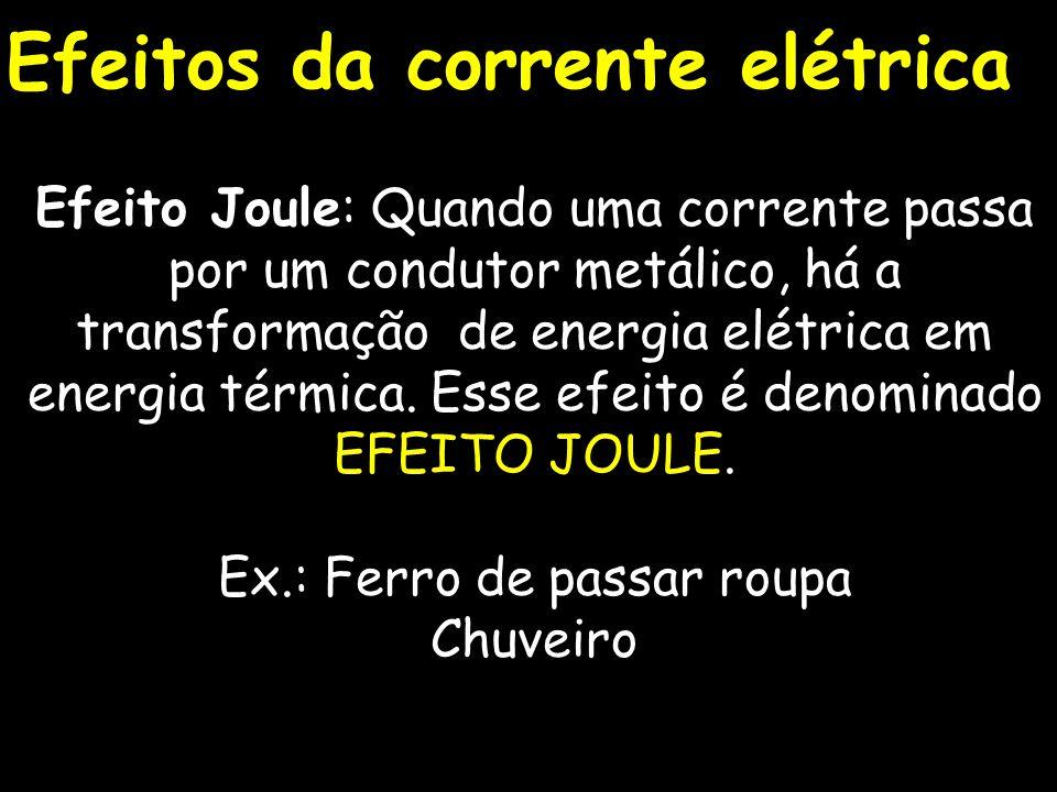 Sentidos da corrente elétrica Real Convencional