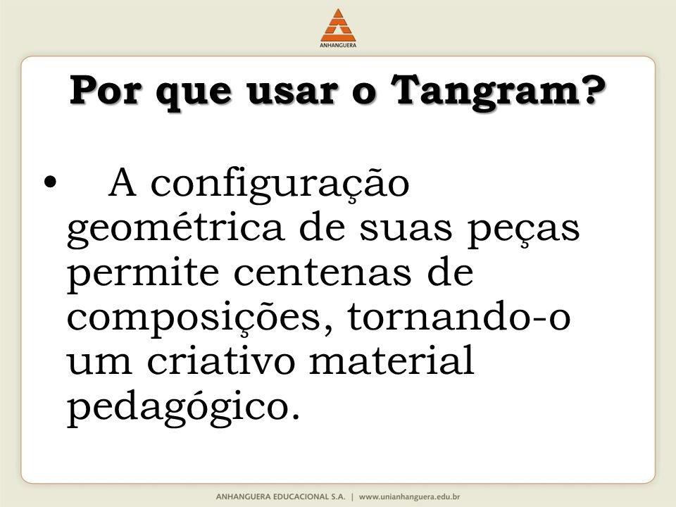 Por que usar o Tangram.
