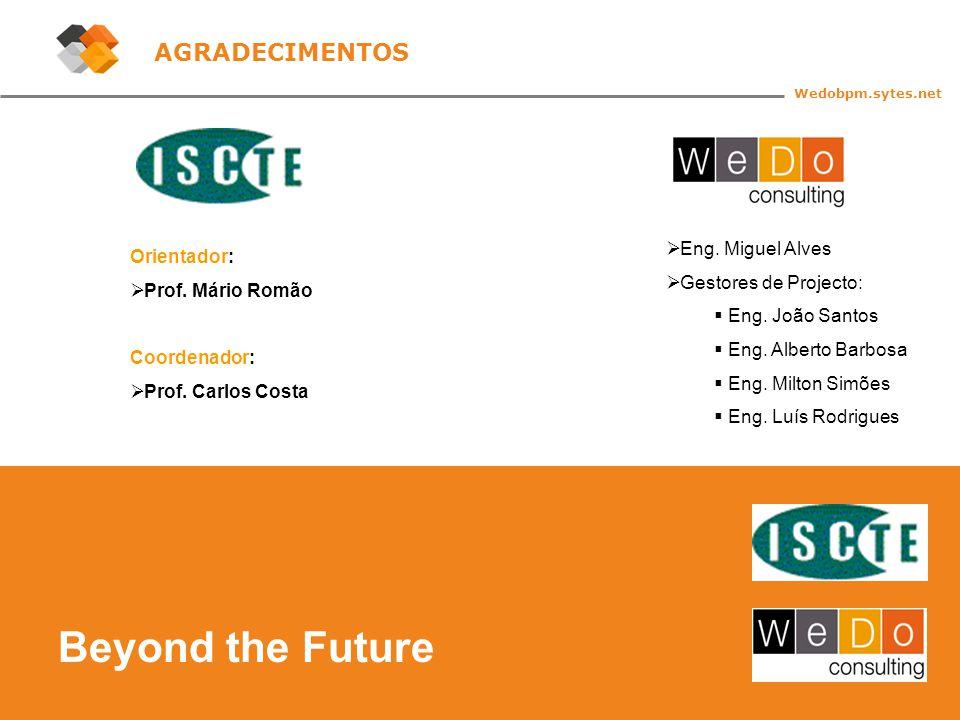 44 Beyond the Future Wedobpm.sytes.net AGRADECIMENTOS Orientador:  Prof.