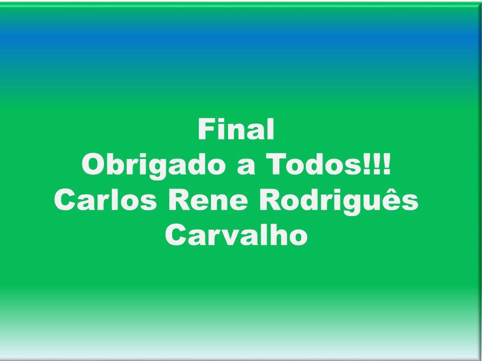 Final Obrigado a Todos!!! Carlos Rene Rodriguês Carvalho