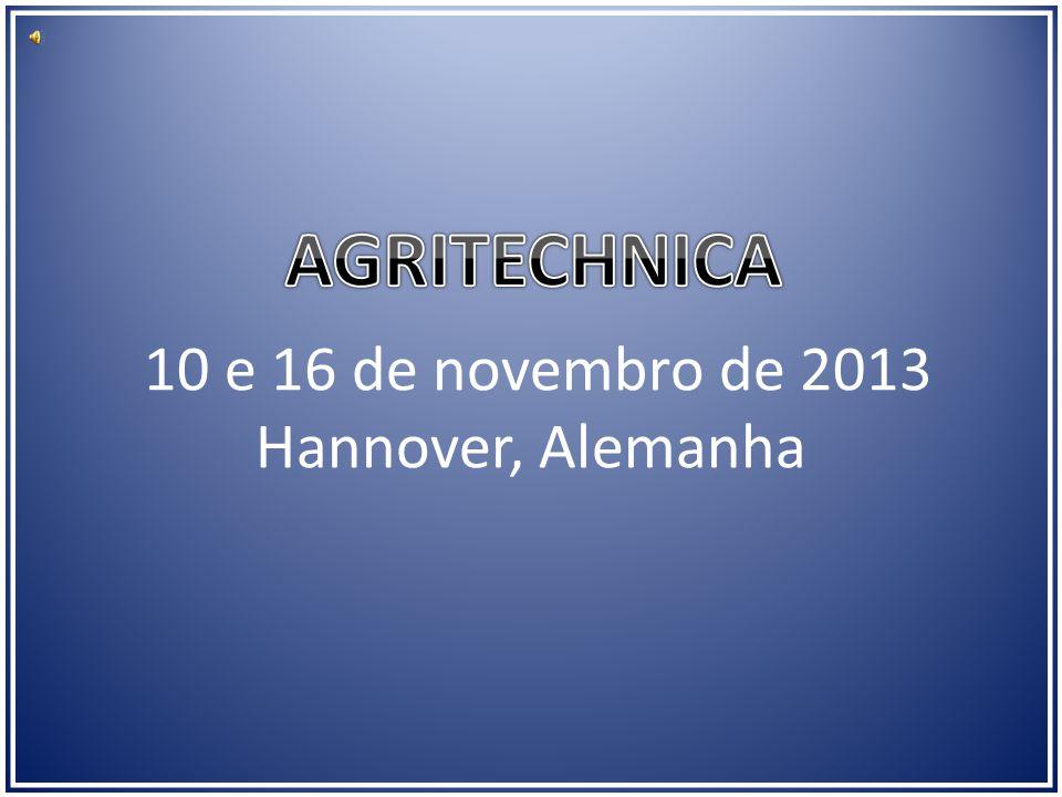 10 e 16 de novembro de 2013 Hannover, Alemanha
