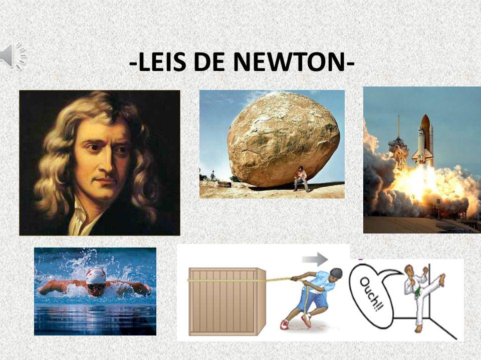 2ª Lei de Newton Lei fundamental da dinâmica: A força resultante que atua sobre um corpo é igual ao produto da sua massa pela aceleração com a qual ele irá se movimentar.