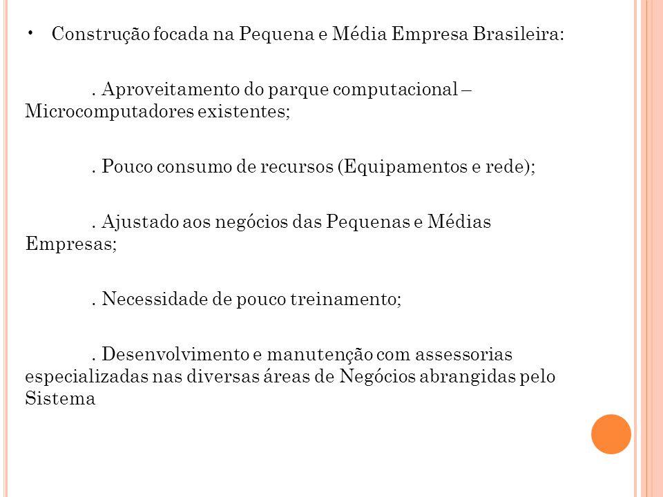 Construção focada na Pequena e Média Empresa Brasileira:.
