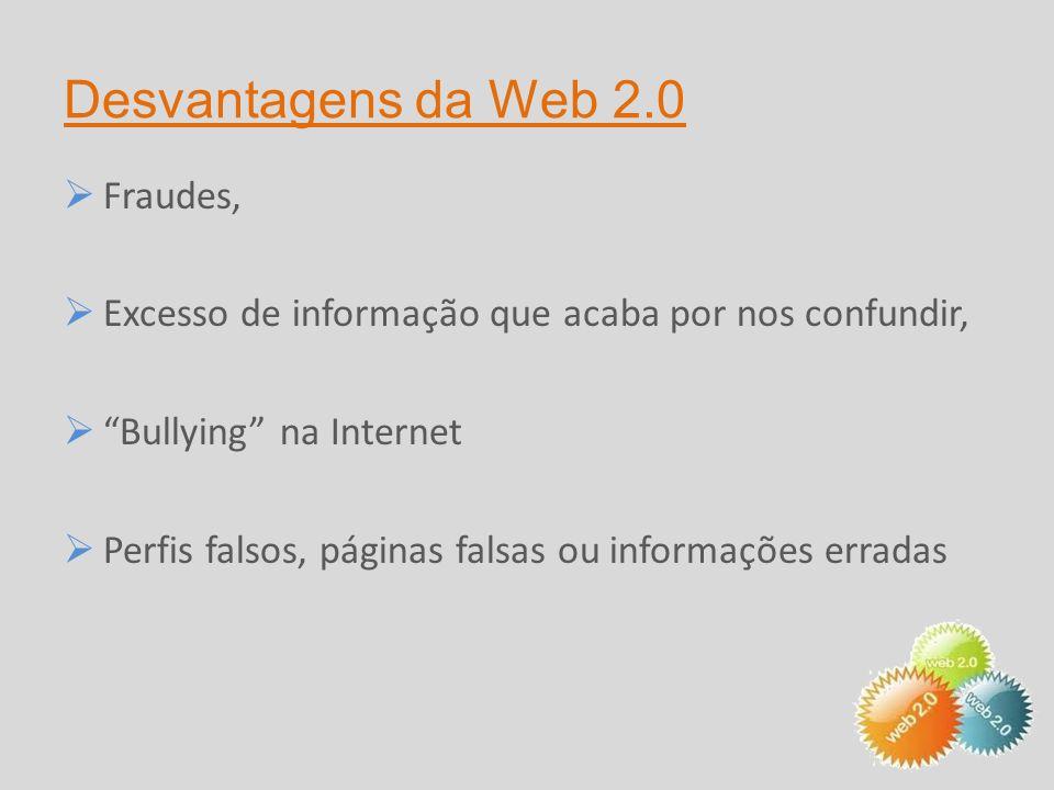 Vantagens da Web 2.0