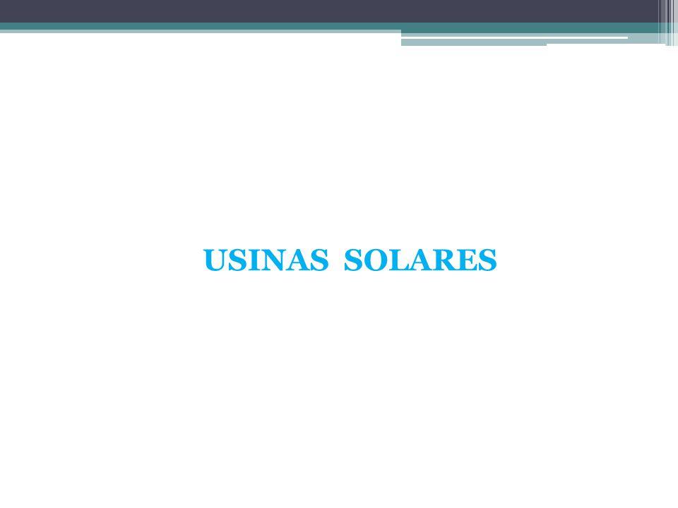 USINAS SOLARES