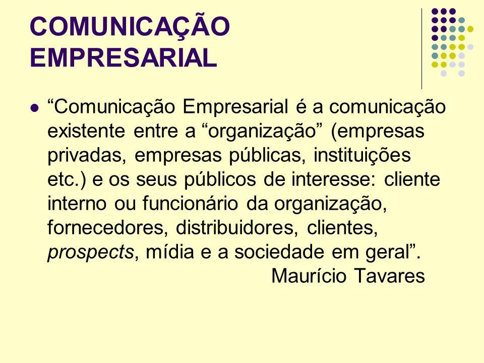 COMUNICAÇÃO ORGANIZACIONAL 3 fases o desenvolvimento da comunicação organizacional: Nas décadas de 60 e 70, ele destaca o caráter e a preocupação da comunicação organizacional com uma ênfase no produto.