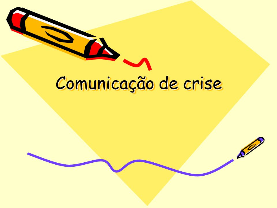 Comunicação de crise