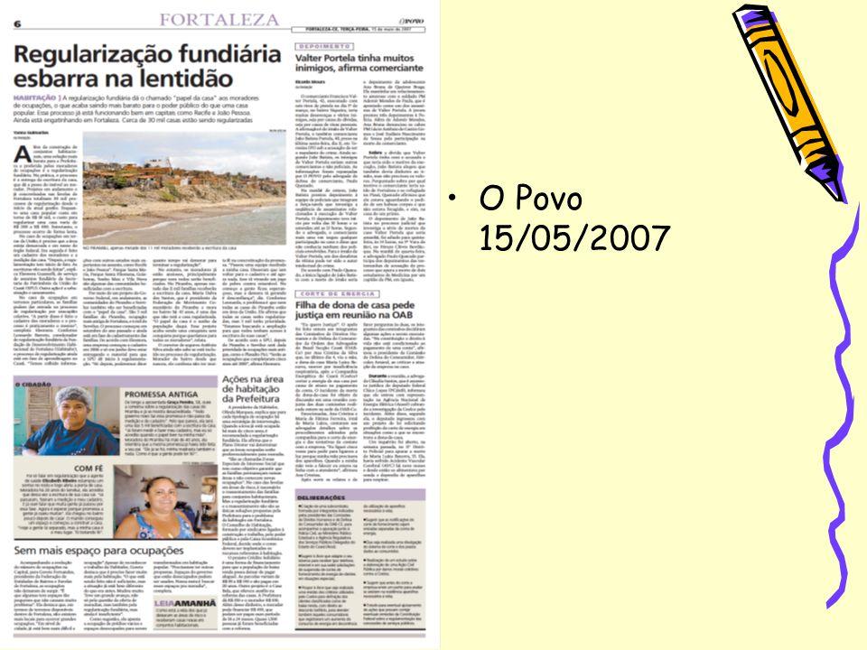 O Povo 15/05/2007