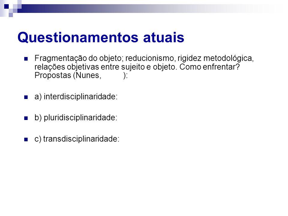 Diretrizes Curriculares (MEC/1998/2001) 1.Para todas as profissões da saúde; 2.