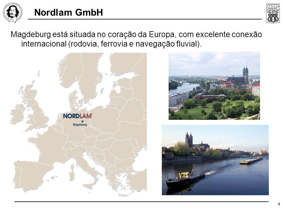 4 Magdeburg está situada no coração da Europa, com excelente conexão internacional (rodovia, ferrovia e navegação fluvial).