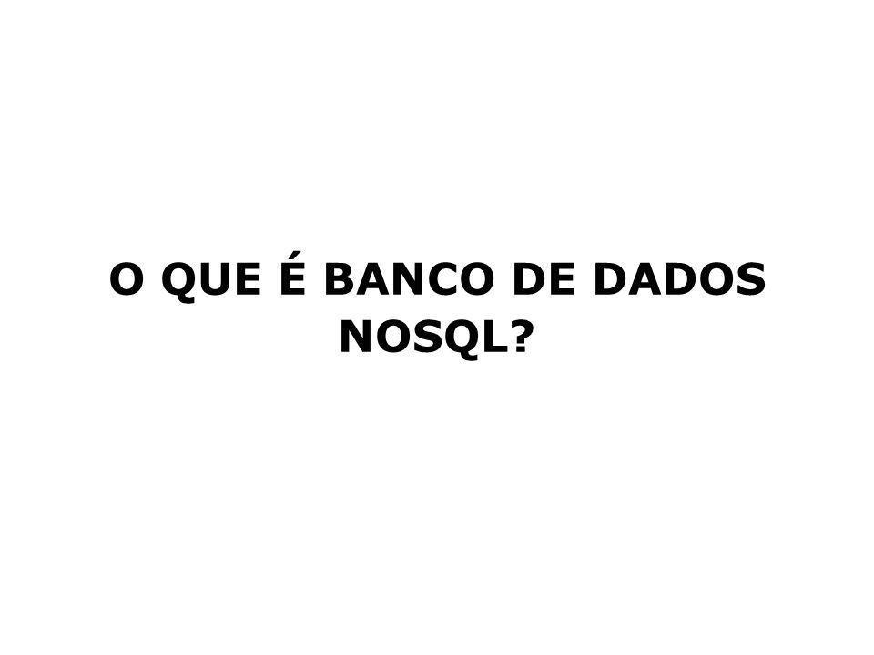 O QUE É BANCO DE DADOS NOSQL?
