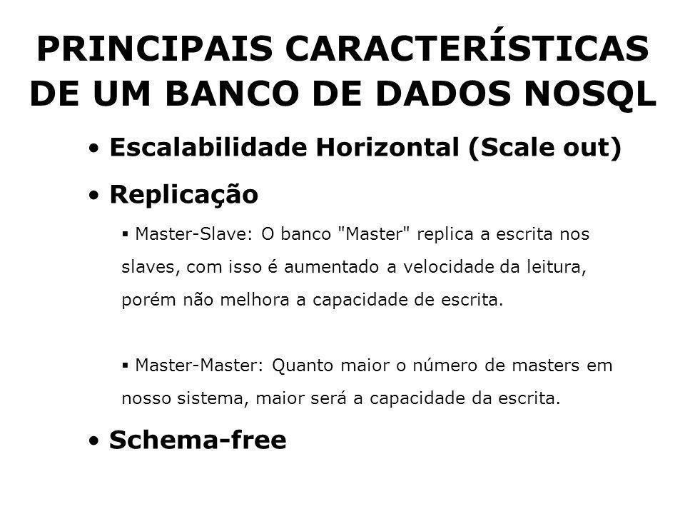 Escalabilidade Horizontal (Scale out) Replicação  Master-Slave: O banco