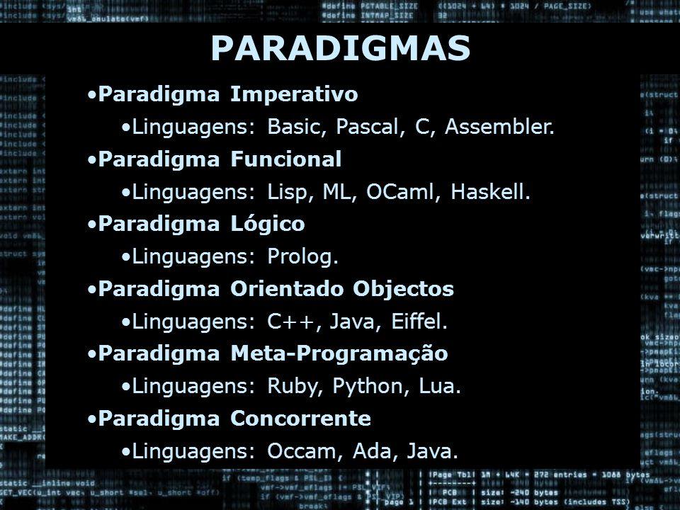 DEFINIÇÕES DA META-PROGRAMAÇÃO Metacódigo: é um programa que gera como saída o código para outro programa.