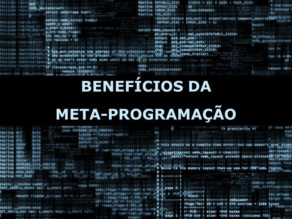 BENEFÍCIOS DA META-PROGRAMAÇÃO