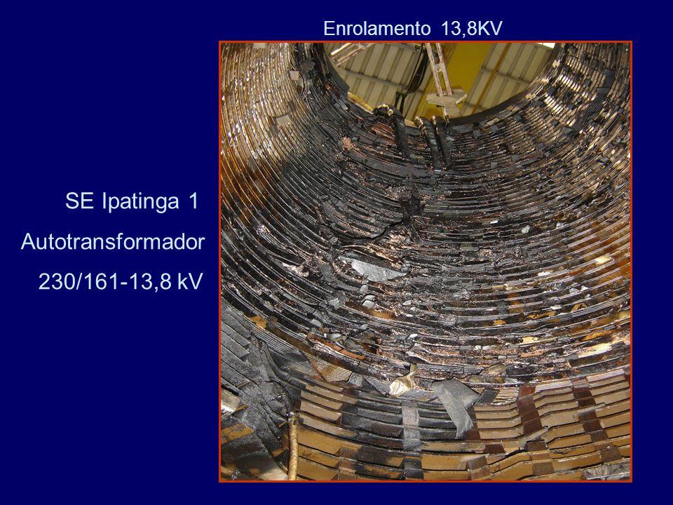 Enrolamento 13,8KV SE Ipatinga 1 Autotransformador 230/161-13,8 kV