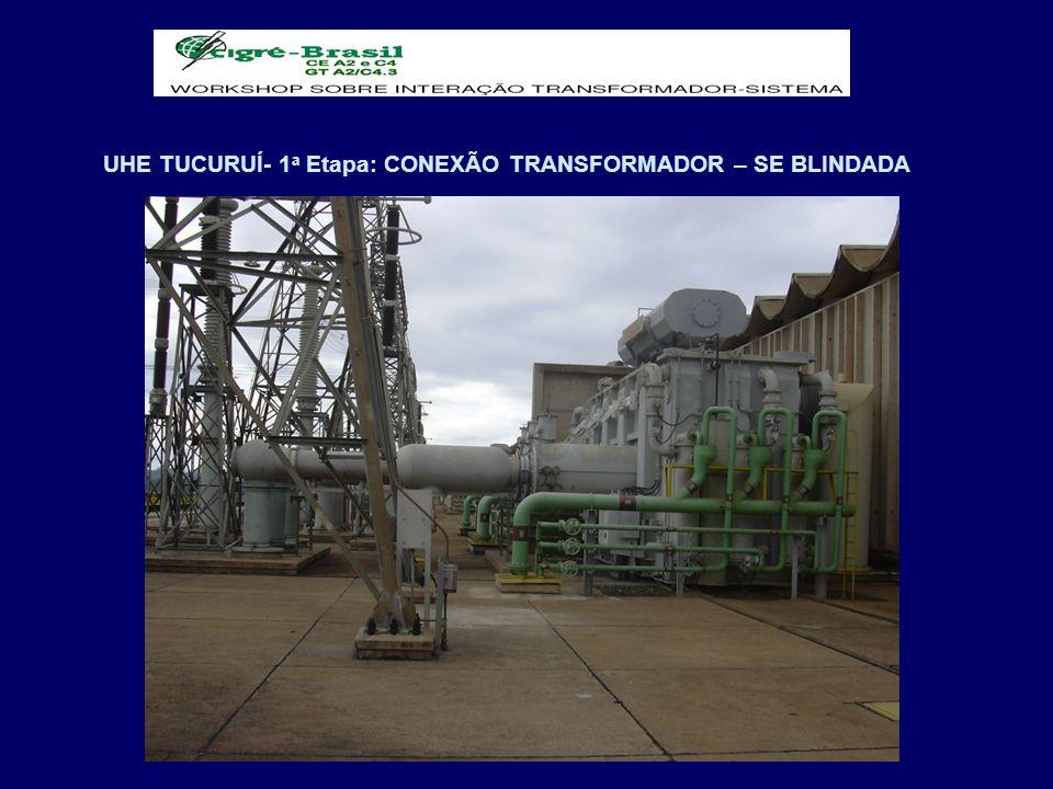 UHE TUCURUÍ- 1 a Etapa: CONEXÃO TRANSFORMADOR – SE BLINDADA